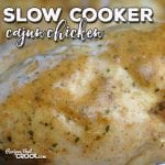 If you are looking for a super easy recipe where you end up with a dish that has amazing flavor with just a tiny kick, then you simply must try this Slow Cooker Cajun Chicken!