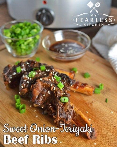 Sweet Onion Teriyaki Beef Ribs