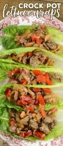Are you looking for a good ground beef recipe? We love these Crock Pot Lettuce Wraps for an Asian-inspired dish for family dinner or flavorful lunch.