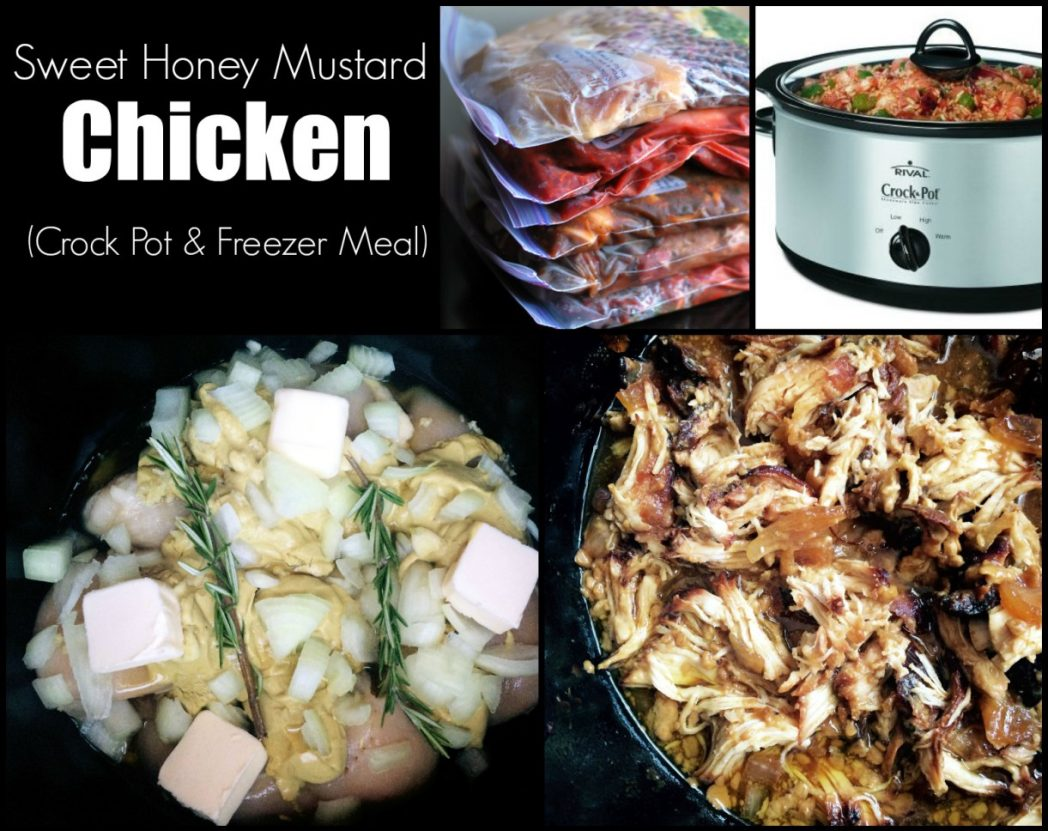 Crock Pot Sweet Honey Mustard Chicken