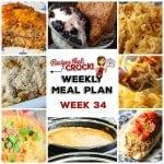 Meal Planning: Weekly Crock Pot Menu 34
