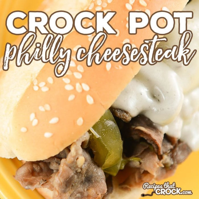 Our Crock Pot Philly Cheesesteak makes your favorite sandwich a snap to make. Savory beef, onions, peppers and mushrooms cook up in your slow cooker and then are served up on a toasted hoagie roll topped with melted provolone cheese.