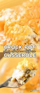 Are you looking for a great low carb casserole that everyone will love? ThisCrock Pot Cheesy Chicken Cauliflower Casserole is one of our favorite family dinners. And, everyone fights over the leftovers!