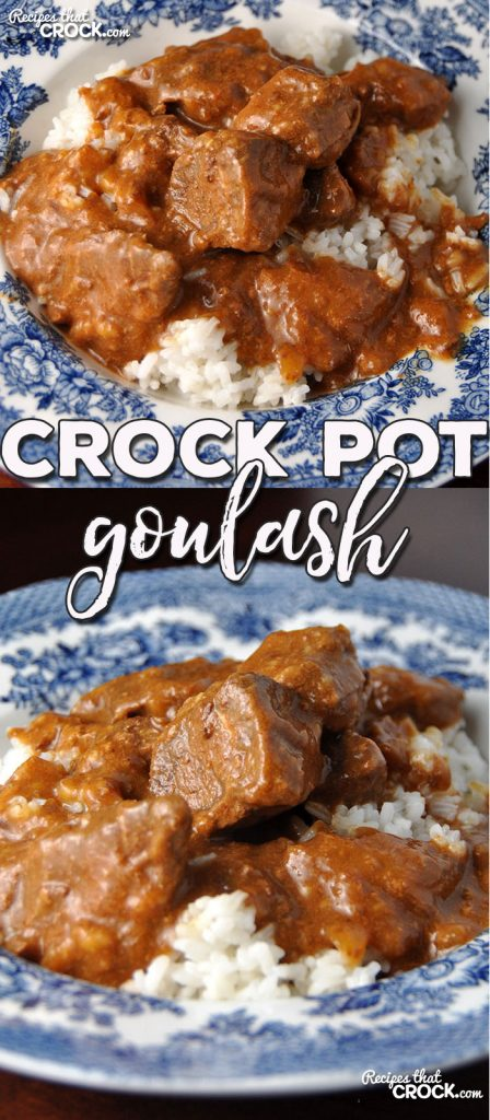 I have a treat for you. This Crock Pot Goulash is a tried and true favorite one of our readers has been using for over 40 years! And my family devoured it!