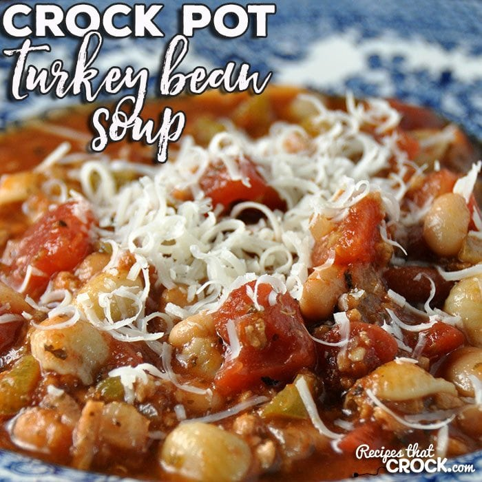 Crock Pot Turkey Bean Soup
