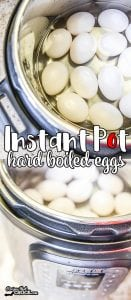 Are you looking for a a quick, fail-proof hard boiled egg for breakfast, snacks or Easter eggs? Our Instant Pot Hard Boiled Eggs are a fool proof way to cook up perfectly creamy, easy peel hard boiled eggs every time in an electric pressure cooker.
