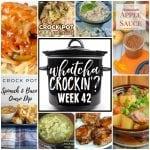 Slow Cooker Chicken Enchilada Soup – WCW Week 42