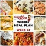 Meal Planning: Weekly Crock Pot Menu 51