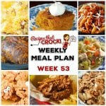 Meal Planning: Weekly Crock Pot Menu 53