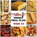 Meal Planning: Weekly Crock Pot Menu 54
