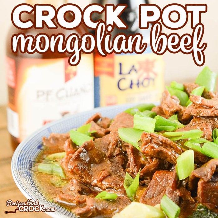 Easy Crock Pot Mongolian Beef Recipes That Crock
