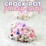 Our Crock Pot Princess Candy is a fun treat to make with the kids in the kitchen. It is super simple to throw together and the kiddos love decorating their own candy creations. It is a perfect treat and activity for birthdays or holidays!