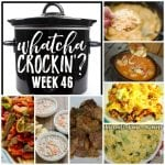 Crock Pot Chicken Wild Rice Soup- WCW 46
