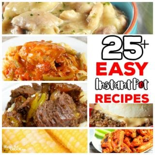 Are you looking for Easy Instant Pot Recipes for your Electric Pressure Cooker? This list of 25 Easy Instant Pot Recipes is full of our go-to electric pressure cooker recipes for main dishes, sides, soups and much, much more!
