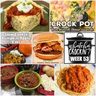 Welcome back to WCW Week 53 and some delicious recipes!