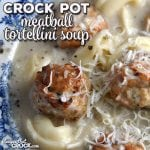 Do you love a delicious and hearty soup? This Crock Pot Meatball Tortellini Soup is just that and super easy!