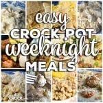 This week for our Friday Favorites we have Easy Crock Pot Weeknight Meals like Crock Pot Meatball Tortellini Soup, Slow Cooker Texas Chili, Crock Pot Creamy Mississippi Beefy Mac, Crock Pot Pork Chops – Melt In Your Mouth, Crock Pot Beefy Tostada Pie, Slow Cooker Chicken Stroganoff, Crock Pot Pork Chops and Cabbage, Low Carb Crock Pot Creamy Bacon Onion Chicken, Creamy Crock Pot BBQ Chicken Sandwiches, Crock Pot Cheesy Chicken Spaghetti, Crock Pot Goulash, Crock Pot Chicken Alfredo Ravioli Casserole, Low Carb Crock Pot Zuppa Toscana Soup and Crock Pot Pull Apart Pizza Bread.