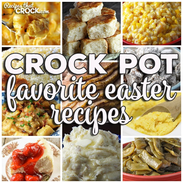 This week for our Friday Favorites we have our Favorite Easter Recipes like Cola Crock Pot Ham, Crock Pot Honey Glaze Ham, Crock Pot Brown Sugar Holiday Ham, Easy Crock Pot Ham, Crock Pot Egg Salad, Instant Pot Hard Boiled Eggs, Slow Cooker Mac and Cheese, Crock Pot Spaghetti Squash and Cheese, Crock Pot Parmesan Broccoli Cauliflower, Crock Pot Garlic Parmesan Potatoes, Crock Pot Cheesy Potatoes and Smoked Sausage, Crock Pot Easy Homemade Yeast Rolls, Crock Pot Green Bean Casserole, Crock Pot No Boil Mashed Potatoes, Crock Pot Bacon Taters, Cheese Lover's Crock Pot Shells, Crock Pot Green Beans, Crock Pot Corn Pudding, Homemade Crock Pot Stuffing, Crock Pot Dinner Rolls, Crock Pot German Potato Salad, Crock Pot Parmesan Cream Corn, Crock Pot Cheesy Potatoes, Crock Pot Broccoli Cauliflower Casserole, Creamy Crock Pot Mashed Potatoes, Creamy Crock Pot Corn, Crock Pot Parsley Potatoes, Crock Pot Desserts, Homemade Crock Pot Cheesecake, Crock Pot Muddy Buddies, Princess Crock Pot Candy, Crock Pot Strawberry Cream Dump Cake, Crock Pot Glazed Lemon Bread, Crock Pot Cherry Cheesecake Bars, Crock Pot Rice Krispy Treats, Crock Pot Peach-Berry Crisp, Crock Pot Upside-Down Blueberry-Lemon Cake, Easy Crock Pot Peach Cobbler, Crock Pot Strawberry Shortcake, Easy Crock Pot Caramel Pie and Crock Pot Strawberry Vanilla Spoon Cake.