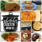 This week's Whatcha Crockin' crock pot recipes include Crock Pot Cubed Steak with Gravy, Honey Garlic Chicken and Gravy, Crock Pot Chocolate Lava Cake, Crock Pot Sausage Queso Dip, Crock Pot Scrambled Eggs Casserole with Sausage and Green Chilies, Instant Pot Beef Vegetable Soup and Slow Cooker White Bean Soup and more!