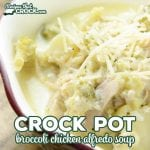 Crock Pot Broccoli Chicken Alfredo Soup (Low Carb)