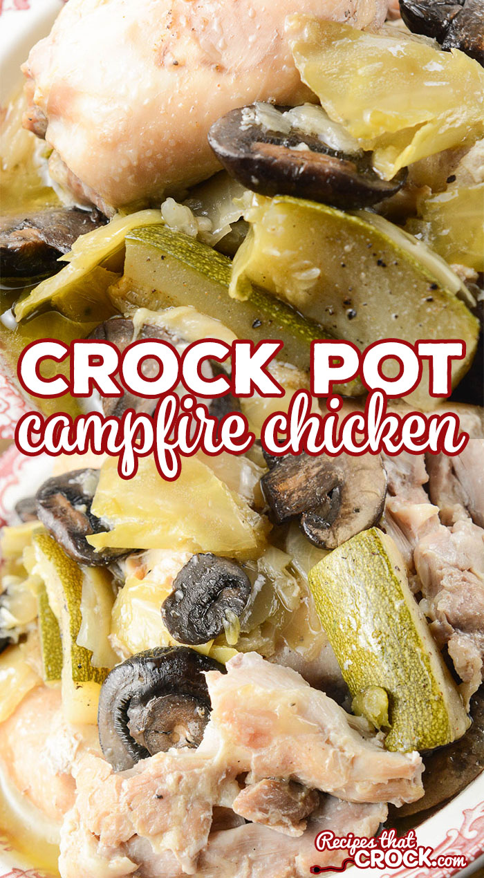 Are you looking for an easy one pot meal? We love this simple Crock Pot Campfire Chicken for a delicious family dinner that just so happens to be low carb too.