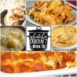 This week's Whatcha Crockin' crock pot recipes include Crock Pot Peach Cobbler, Crock Pot Chicken Enchilada Dip, Pressure Cooker Potato Soup, Crock pot Philly Cheese Steak Casserole, Crock Pot Bubble Up Pizza Casserole, Slow Cooker Ranch and Veggie Casserole, Slow Cooker Chicken and Mushroom Soup and more!