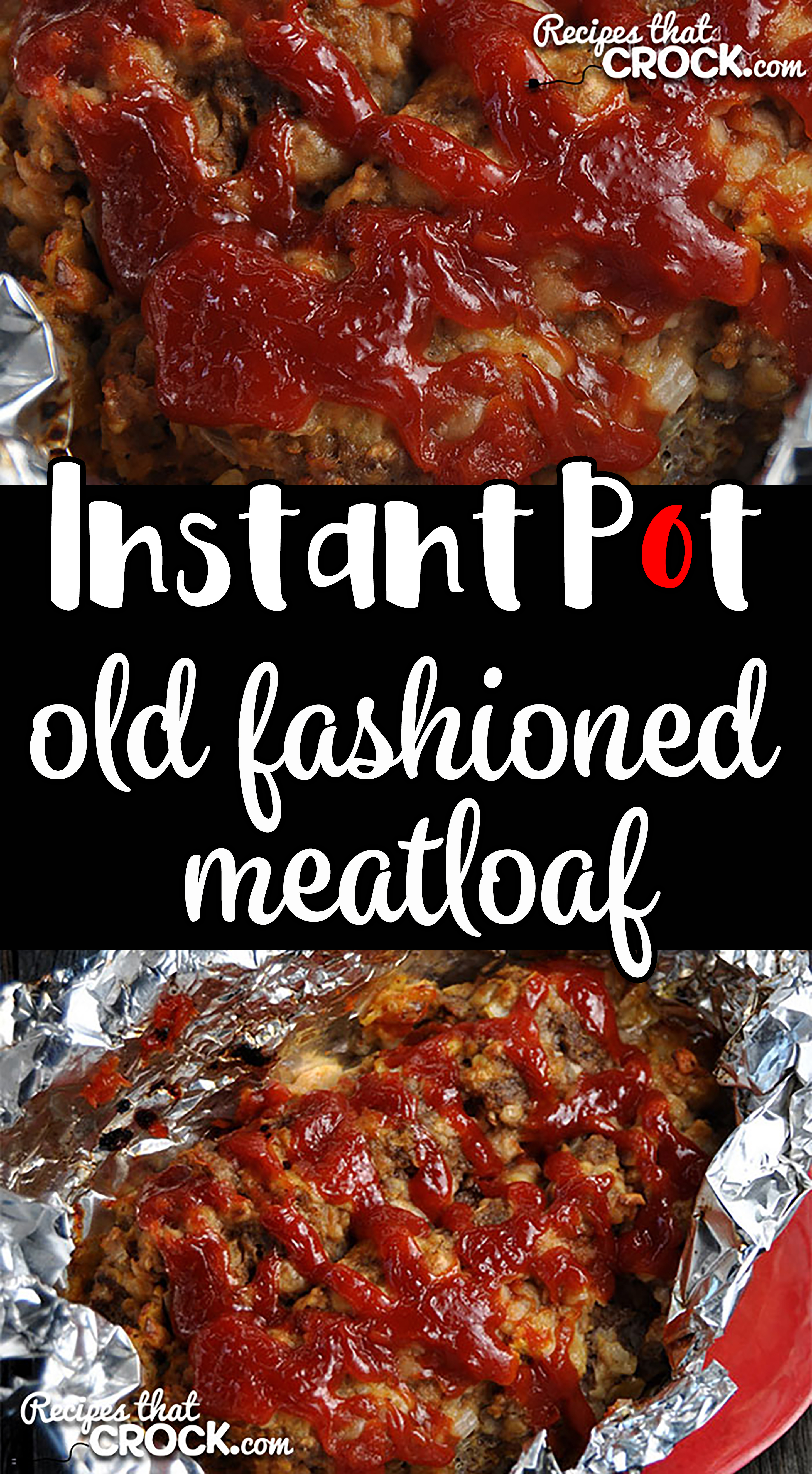Need dinner in a hurry? This Instant Pot Old Fashioned Meatloaf takes our tried and true, super simple Old Fashioned Meatloaf recipe and turns it into an Instant Pot recipe! via @recipescrock