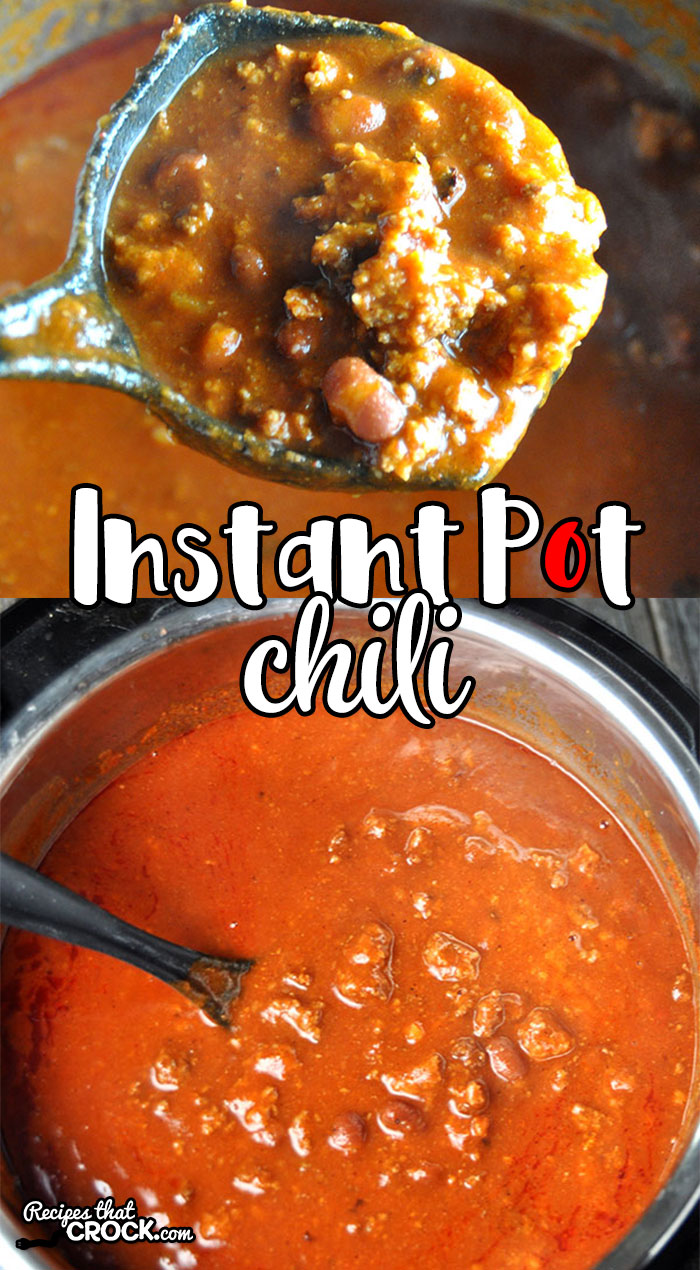 This Instant Pot Chili is the electric pressure cooker version of our much loved Slow Cooker Chili. Whether you make this recipe in your Instant Pot or Crock Pot, you are gonna love it!