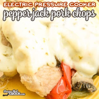 Are you looking for a pork chop recipe for your Ninja Foodi, Instant Pot or Crock Pot Express? OurElectric Pressure Cooker Pepper Jack Pork Chops Recipe is a super easy one pot dinner that everyone loves! We are giving you tips on how to cook the perfect pork chop every time! Tender and juicy, this recipe makes cooking pork chops easy! #Ad #IowaPork @IowaPork