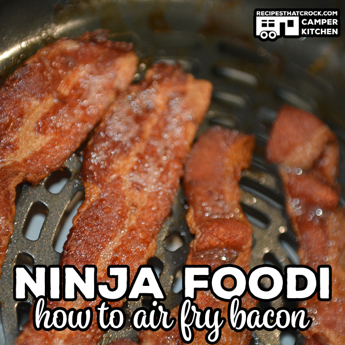 Air Frying Bacon