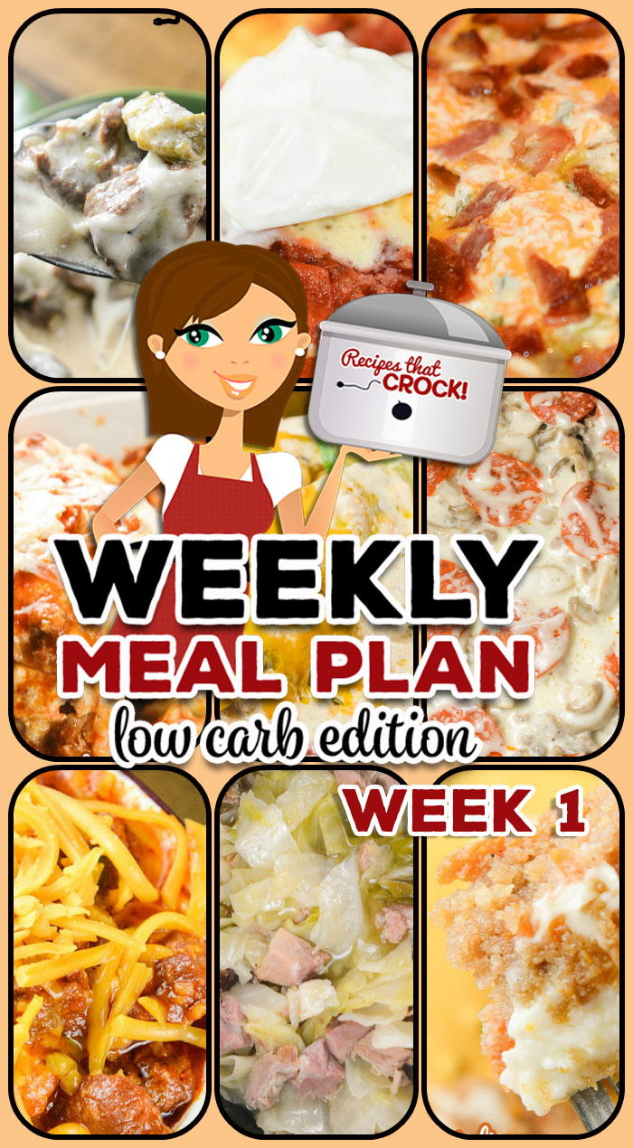 Are you looking for good low carb crock pot recipes? This week's Low Carb Crock Pot Menu includes Crock Pot Chili Dog Casserole, Crock Pot Ham and Cabbage, Electric Pressure Cooker Philly Cheesesteak Soup, Crock Pot Fiesta Lime Chicken, Crock Pot Pizza and more!