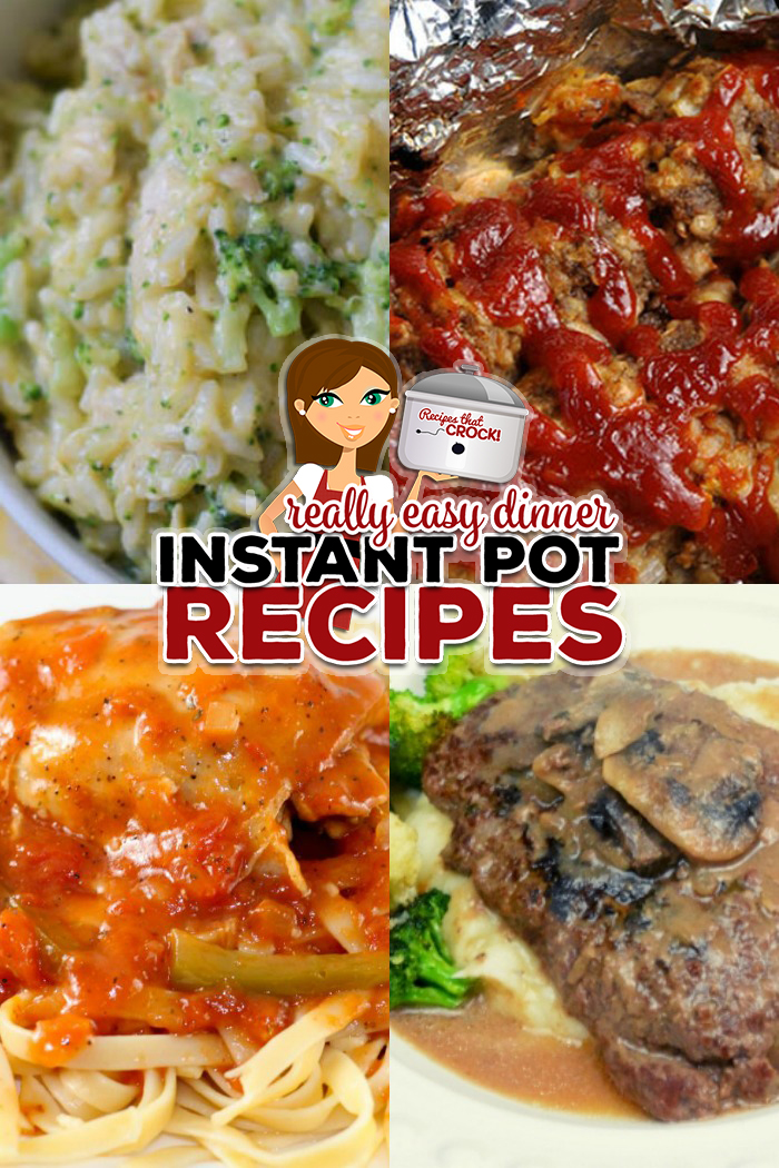 Electric Pressure Cookers like the Instant Pot, Crock Pot Express and Ninja Foodi make cooking dinner a snap. Here are a few of our favorite Quick and Easy Dinners including: meatloaf, chicken broccoli rice casserole, chicken caccitore and more.