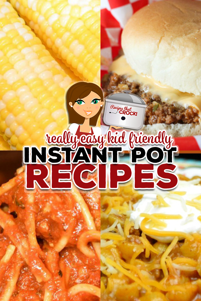 These Kid Friendly Recipes are kid-tested and approved including: Instant Pot Pepperoni Pizza Rigatoni, Tavern Sandwiches, Electric Pressure Cooker Spaghetti with Homemade Meatballs, Instant Pot Corn on the Cob and Instant Pot Taco Hamburger Pasta.