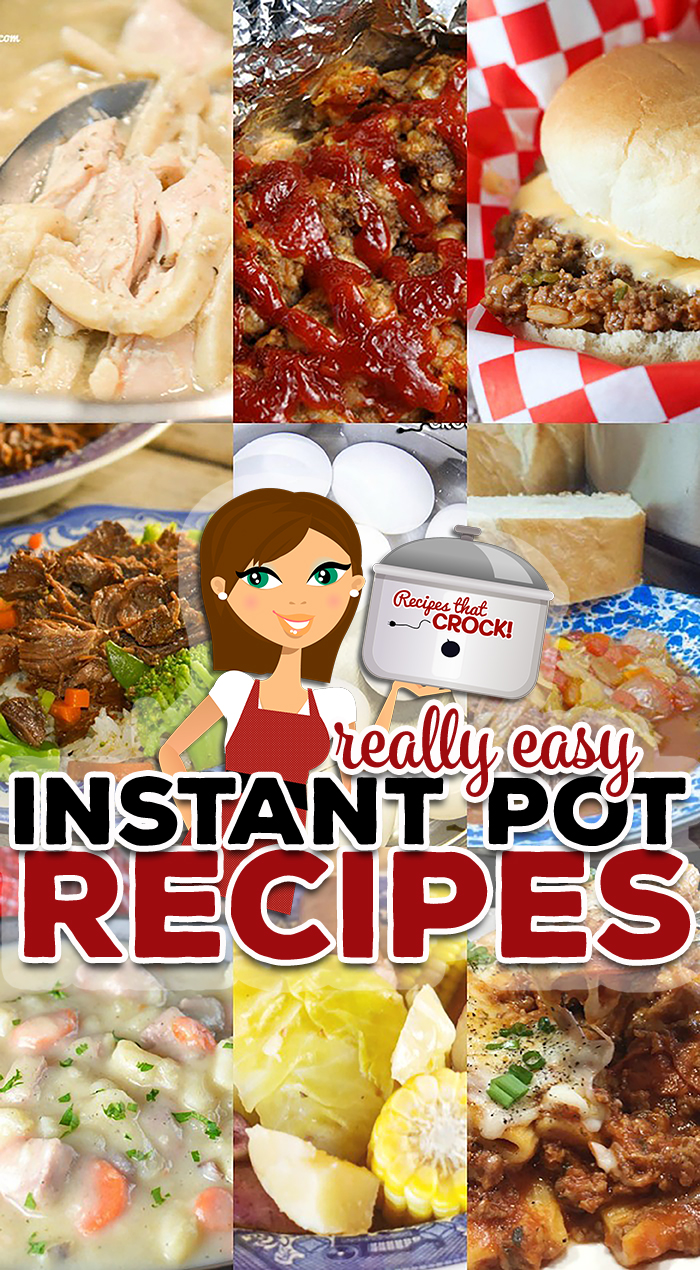 Are you looking for Really Easy Instant Pot Recipes perfect for electric pressure cooker beginners and seasoned cooks alike? This collection of 37 electric pressure recipes is perfect for your Instant Pot, Ninja Foodi or Crock Pot Express. We are sharing our favorite Instant Pot Hacks, Kid Friendly Recipes, Easy Electric Pressure Cooker Soups, Quick & Easy Dinners and Holiday Favorites!