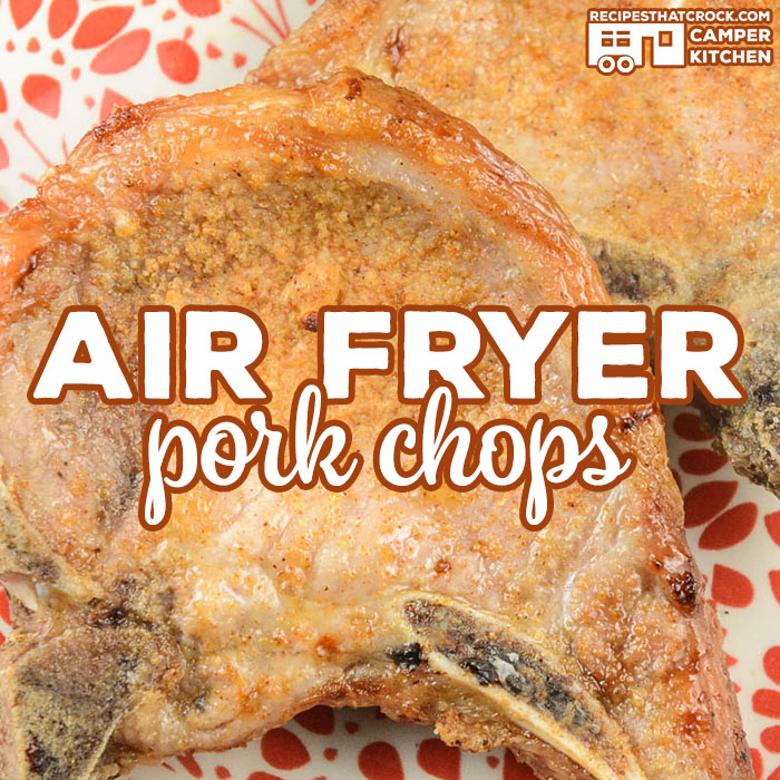 Our Air Fryer Pork Chops are incredibly easy to make and produce perfectly tender pork chops every time. This recipe works great in traditional air fryers and using the Air Crisp feature of the Ninja Foodi.