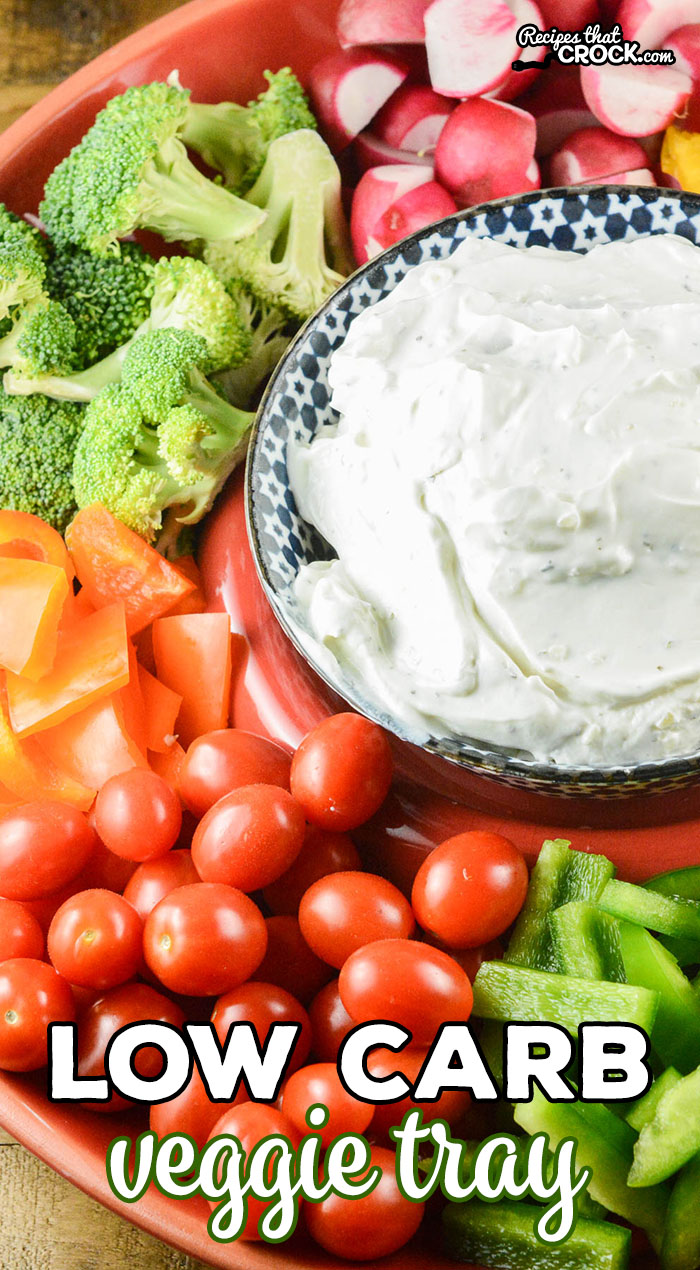 Are you wondering how to make a low carb veggie tray? Here are the low carb vegetables we love to serve at potlucks and parties to enjoy with appetizers and dips.