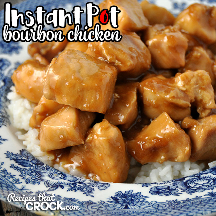 This Instant Pot Bourbon Chicken recipe is a really easy meal that is always a crowd pleaser! The chicken is tender, juicy and flavorful! Yum!