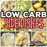 Are you looking for good Low Carb Side Dishes? These are our favorite low carb sides on the site including Loaded Roasted Broccoli, Avocado Salad, Creamy Lemon Artichokes, Crock Pot Broccoli Cheese Bake, Electric Pressure Cooker Ham and Cabbage, Air Fryer Bacon Brussels Sprouts and more! Traditional, Slow Cooker, Air Fryer and Electric Pressure Cooker Recipes.
