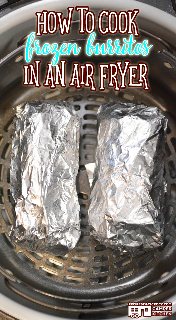 Are you wondering how to cook frozen burritos in an air fryer? Air fried burritos have a slightly crispy, flaky outside with a tender piping hot inside. We absolutely love to air fry frozen burritos.
