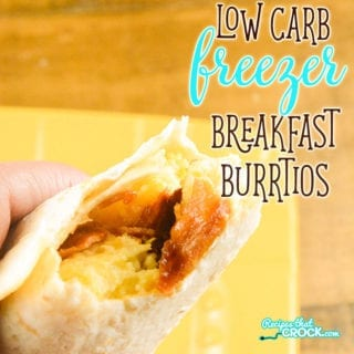 Are you looking for a great breakfast for busy mornings? Our Low Carb Breakfast Freezer Burritos are easy to make and so convenient to grab as you head out the door.