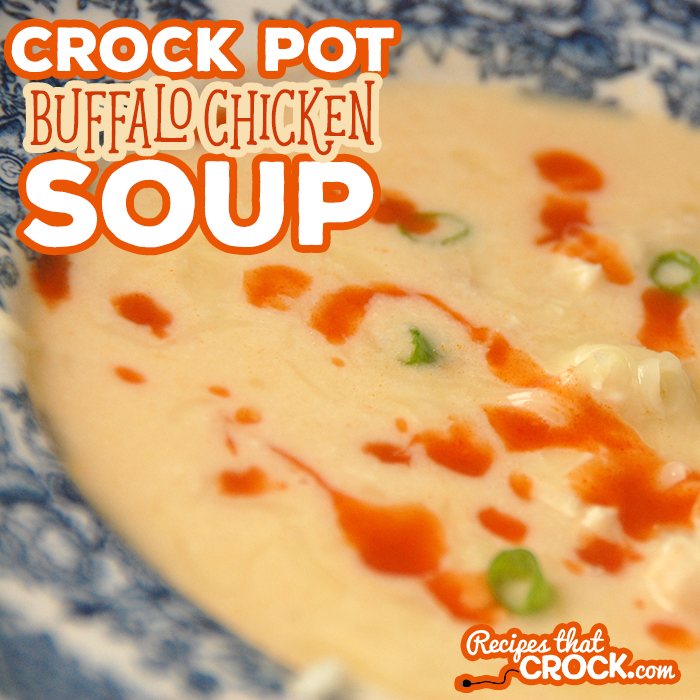 If you love buffalo chicken wings, you HAVE to try this Buffalo Chicken Soup in your crock pot! It is amazing!