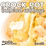 Are you looking for an easy way to make buttered cabbage in your slow cooker? Our Crock Pot Buttered Cabbage is an easy way to enjoy this classic recipe. This recipe makes a delicious low carb side dish!