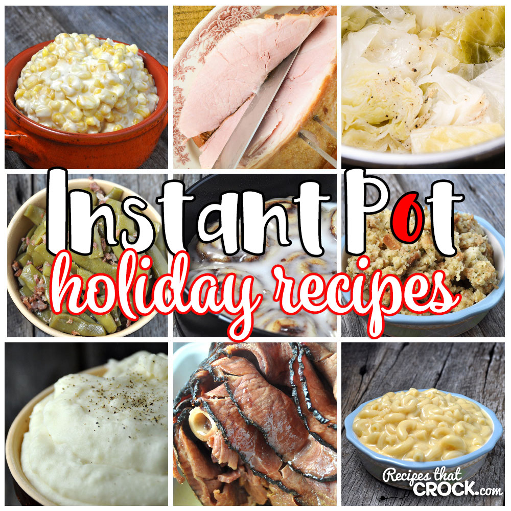 When it comes to preparing holiday meals, finding the perfect recipes that give you delicious flavor is imperative. However, did you know those delicious recipes can be quick and easy too? You get all that with these Holiday Instant Pot Recipes!