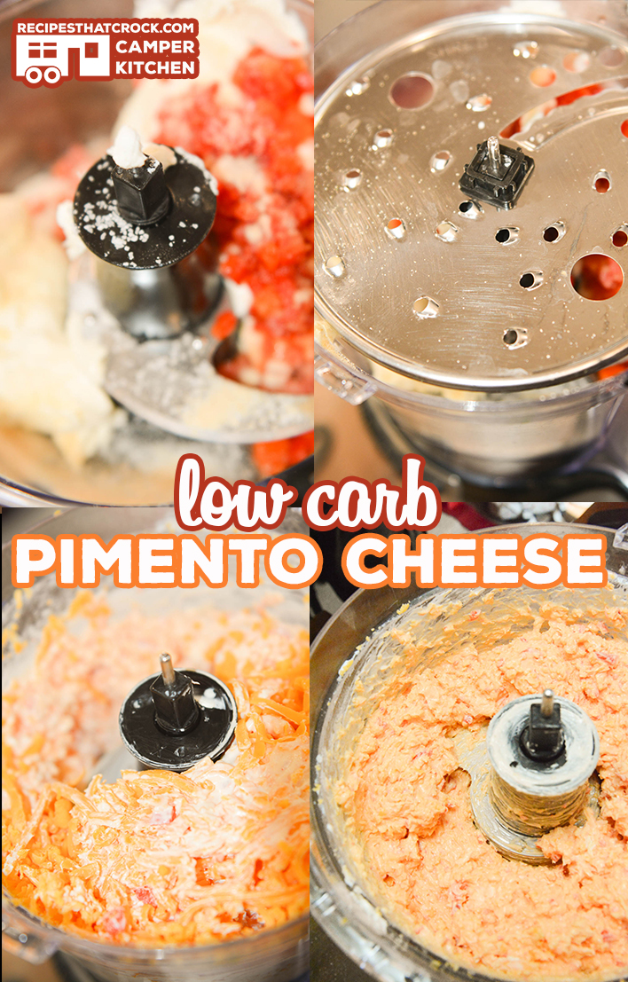How To Make Pimento Cheese in a Food Processor