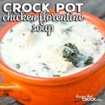 While this Crock Pot Chicken Florentine Soup make look and sound fancy, it is super easy and full of flavor you are going to love!