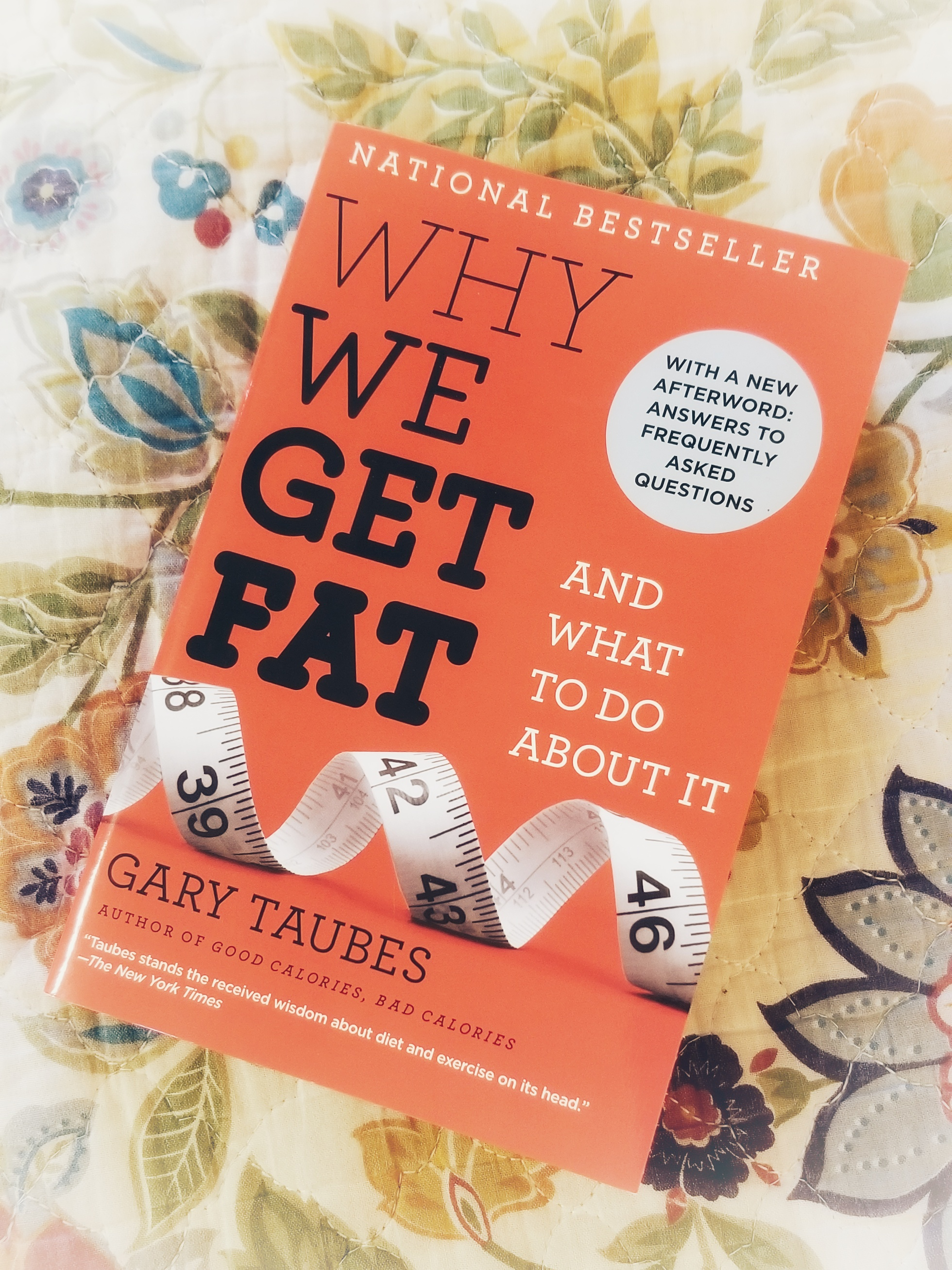 Why We Get Fat and What To Do About It by Gary Taubes