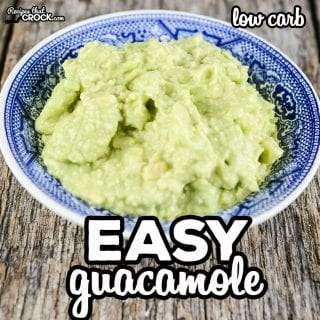 Are you looking for a simple way to make guacamole? This easy guacamole recipe is my go-to low carb recipe any time I am craving guac! It is so delicious and scale-able to feed a crowd if needed.
