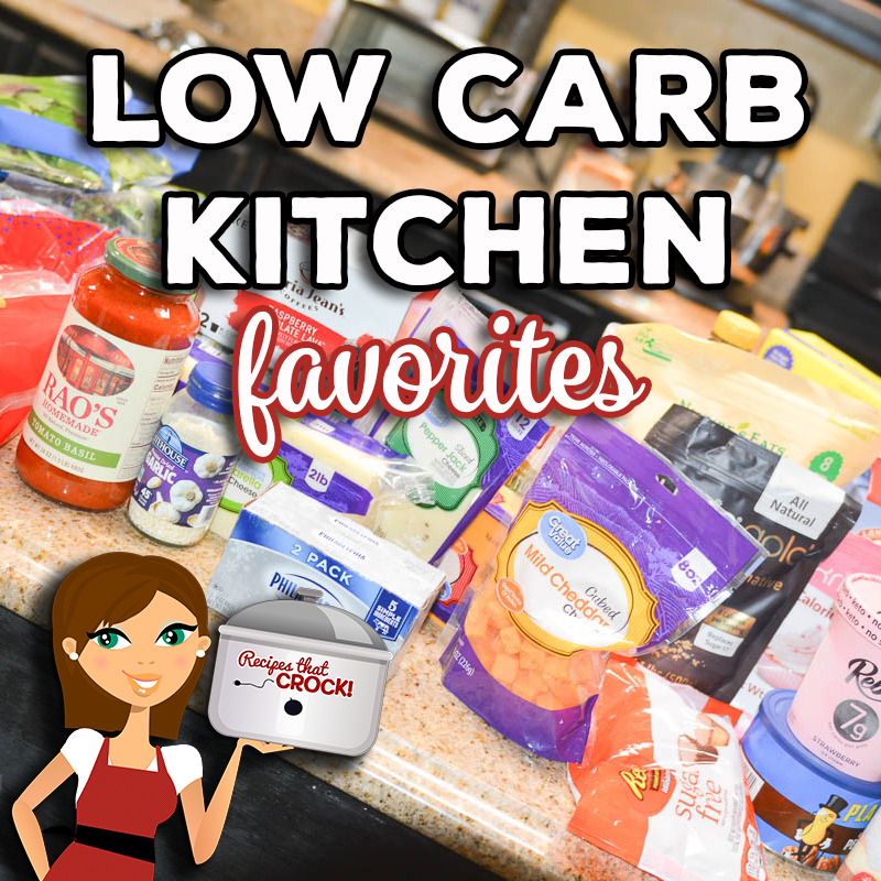 Are you looking for low carb foods to stock your pantry and refrigerator? Here are our Low Carb Kitchen Favorites from meats and vegetables to low carb baking essentials and our go-to must have products and where to get them.