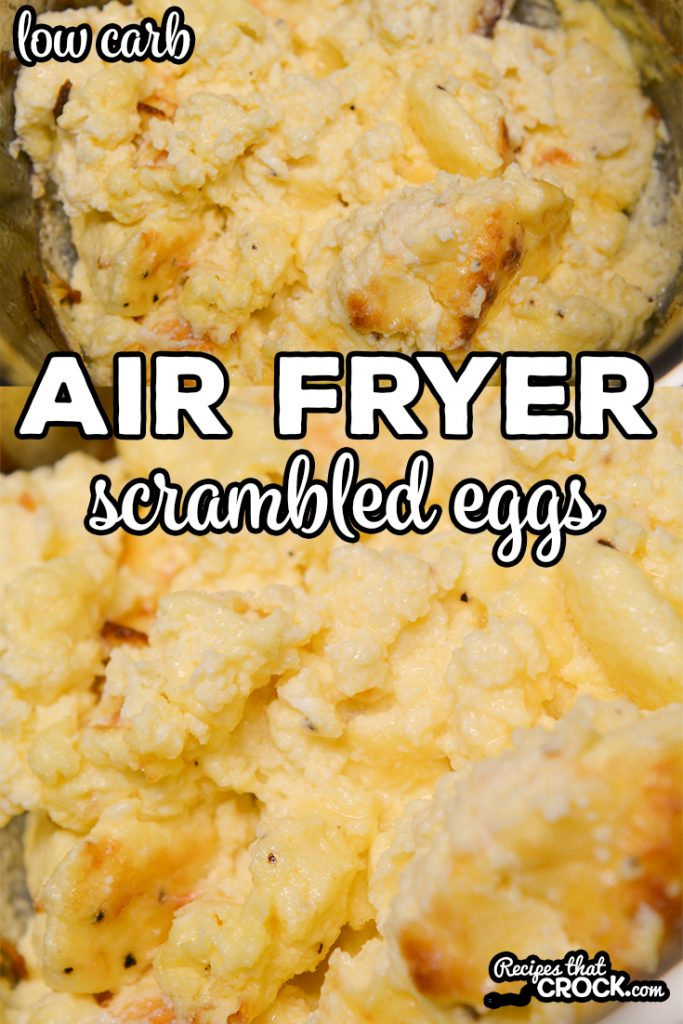 Did you know that you can make incredibly fluffy scrambled eggs in an air fryer or Ninja Foodi?Our Air Fryer Scrambled Eggs are an easy way to make our popular Crock Pot Scrambled Eggs quicker.