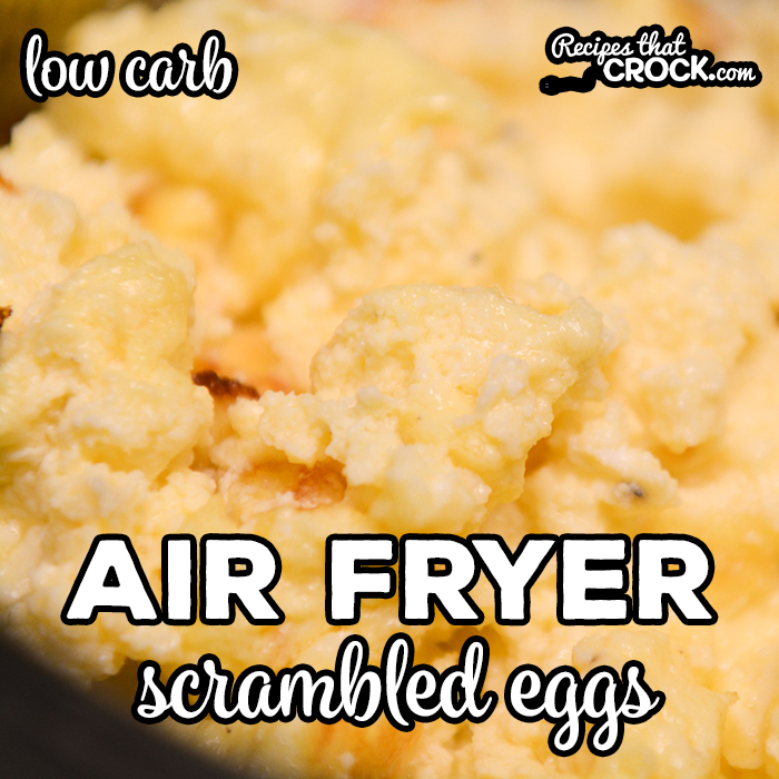 Air Fryer Scrambled Eggs Ninja Foodi Recipes That Crock